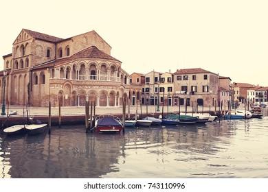 The Church of Santa Maria e San Donato. Murano. Italy