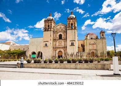 Church of Santo Domingo de Guzman in Oaxaca city, Mexico.