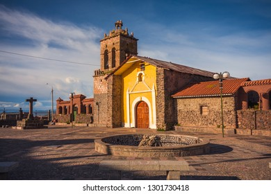 Church of Santo Domingo, district of Chucuito in Puno, Peru