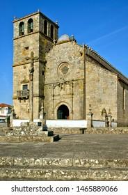 Church of Sao Francisco de Azurara in Vila do Conde, Portugal