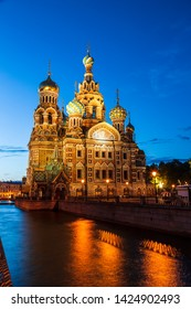 Church of the Savior on Blood, Saint-Petersburg, Russia
