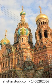 Church of the Savior on Blood in the sunset light - St. Petersburg, Russia