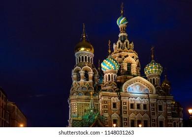 Church of Savior on Spilled Blood in St.Petersburg