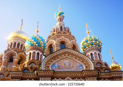 Church of the Savior on Spilled Blood. Saint-Petersburg, Russia. UNESCO World Heritage Site.
