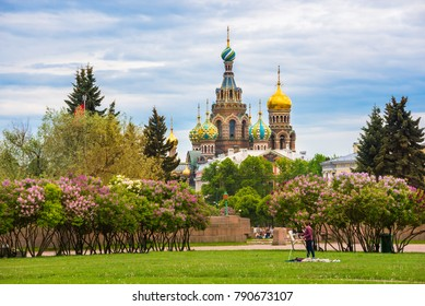 Church of the Savior on Spillet Blood in St. Petersburg, Russia