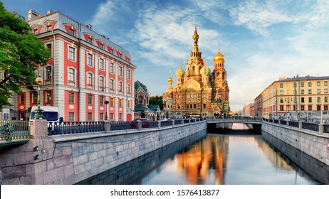 Pfarrkirche des Erretters über verschüttetes Blut, St. Petersburg, Russland