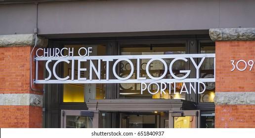 The Church of Scientology in Portland - PORTLAND / OREGON - APRIL 16, 2017