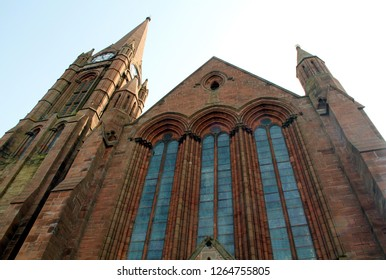 Church of Scotland in the town of Largs Scotland