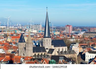 The Church Sint-Jacobskerk in Ghent (Belgium)