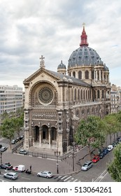 Church of St. Augustine. is a Catholic church located at 46 boulevard Malesherbes in the 8th arrondissement of Paris. France