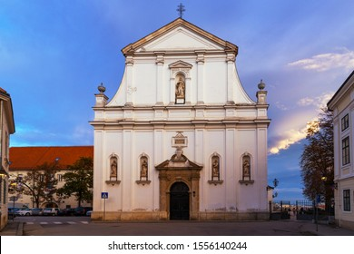 Church of St. Catherine, Zagreb, Croatia
