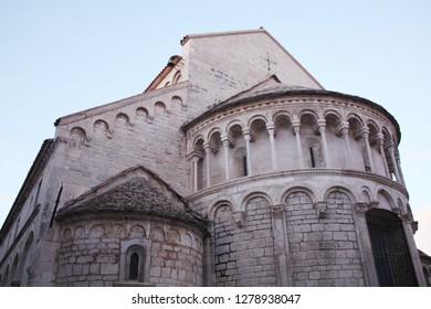 The Church of St. Chrysogonus. Zadar. Croatia. Romanesque style. Details