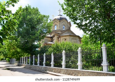 The Church of St. Elijah in the city of Evpatoria, Crimea