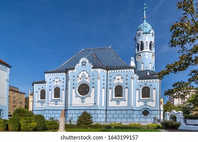 Church of St. Elizabeth commonly known as Blue Church is a Hungarian Secessionist (Jugendstil, Art Nouveau) Catholic church in Bratislava, Slovakia