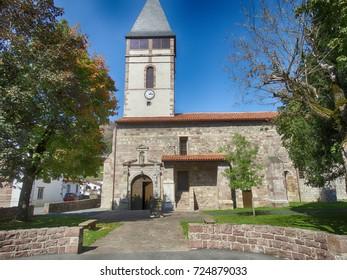 Church of St Etienne de Baigorry in France