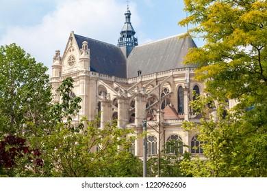 Church St. Eustache in Paris, France