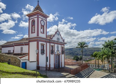 Church of St. Francis of Assisi in Diamantina , MG , Brazil .