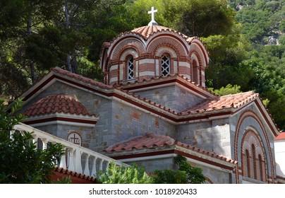 Church at St George of Selinari Monastery
