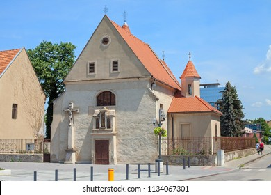 Church of St. Helena in Trnava, Slovakia. The oldest church in Trnava. Ancient church with baroque chapels built in the Gothic style in 14.st., 17.st., dedicated to Saint. Helene. Cultural monument