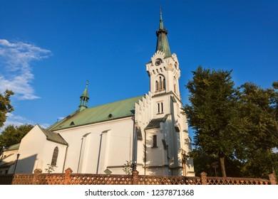 Church of St Jadwiga in Debica. Debica, Podkarpackie, Poland.