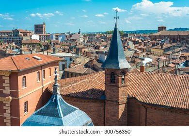 Church St. Jerome, built in the seventeenth century by architect Pierre Levesville in Toulouse, Haute-Garonne, Midi Pyrenees, France.