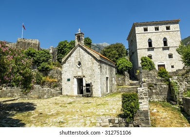 Church of St. John in the old town of Bar.Montenegro