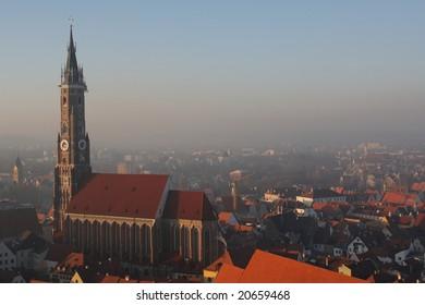 Church of St. Martin Landshut (Germany)