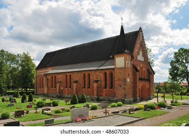 Church of St. Mary, 13c.  Sigtuna, Sweden