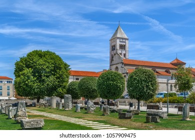 Church of St. Mary is a benedictine monastery located in Zadar, Croatia. It was founded in 1066 on the eastern side of the old Roman forum