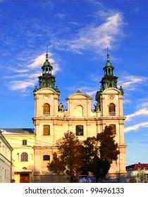 Church of St. Mary Magdalene, the house of organ music in Lviv, Ukraine