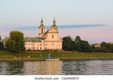 Church of St Michael the Archangel and St Stanislaus Bishop and Martyr and Pauline Fathers Monastery, Skałka, (Church on the Rock) by Vistula river, Krakow, Poland