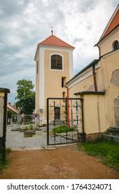 Church of St. Nicholas in Benešov, Czech republic.