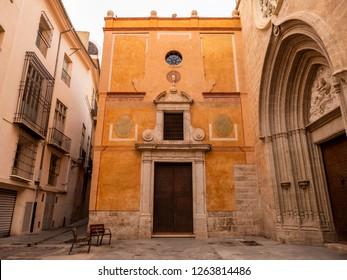 Church of St. Nicholas  (Esglesia Sant Nicolau) in Valencia, Spain.