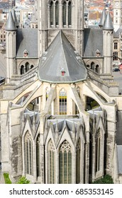 Church of St Nicholas in the Ghent, Belgium