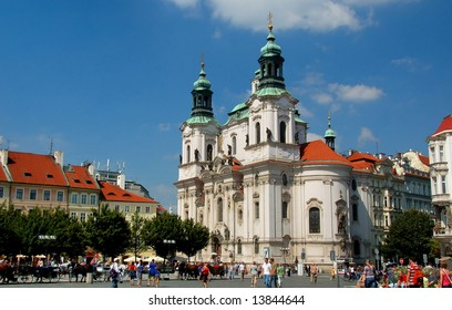 Church of St. Nicholas in Old Town Square, Prague