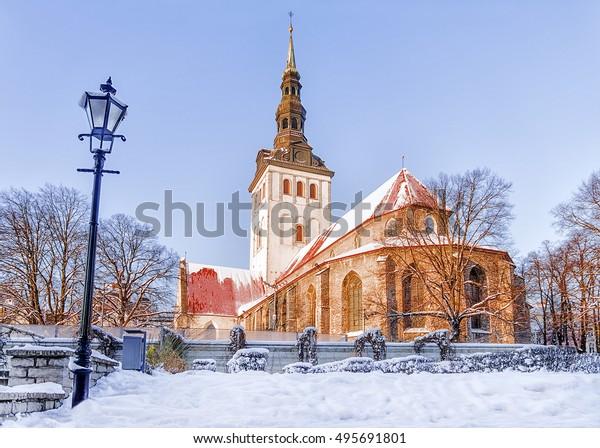 Church of St. Nicholas in Tallinn, Estonia