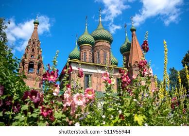 Church of St. Nicholas Wet in Yaroslavl, Russia