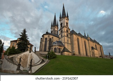 Church of St. Nicolas in Cheb (Czech Republic)