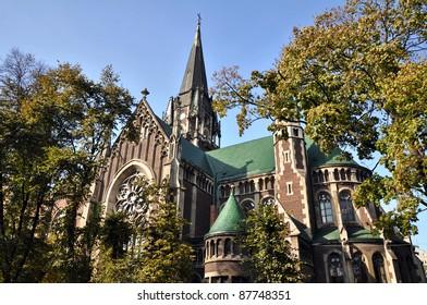 Church of St. Olha and Elizabeth, Lviv. Ukraine