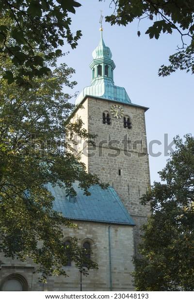Church St. Peter in Recklinghausen, Germany