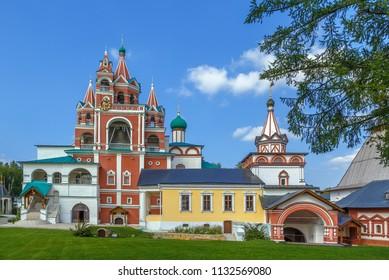 Church of St. Sergius Radonezh in belfry, Savvino-Storozhevsky Monastery, Russia