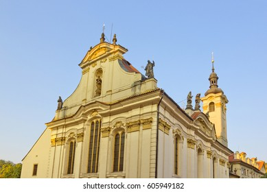 The Church of St. Simon and St. Jude in Prague, Czech Republic