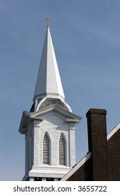 Church Steeple Franklin Tennessee