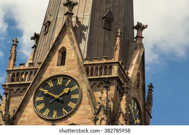 church steeple section