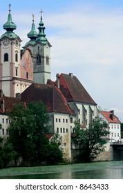 a church in Steyr, Austria