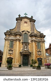 The Church of St.Peter and St.Paul in the historical city center in Mechelen, Flanders, Belgium