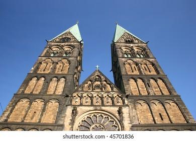 Church St.-Petri-Dom in Bremen, Germany