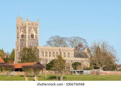 Church of Stratford Saint Mary, Dedham, Colchester, Essex
