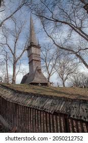 The Church from Surdesti, Maramures, Romania