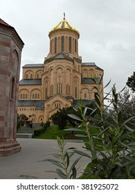 Church in Tbilisi The Sameba Cathedral City